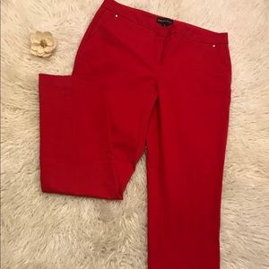 Red Dana Buchman Dress Pants